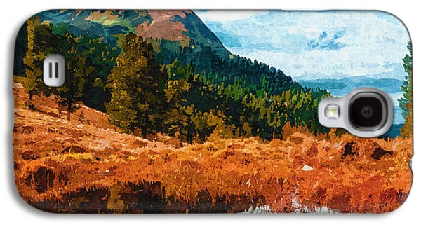 Abstract Sights Digital Galaxy S4 Cases - Into The Woods Galaxy S4 Case by Ayse Deniz