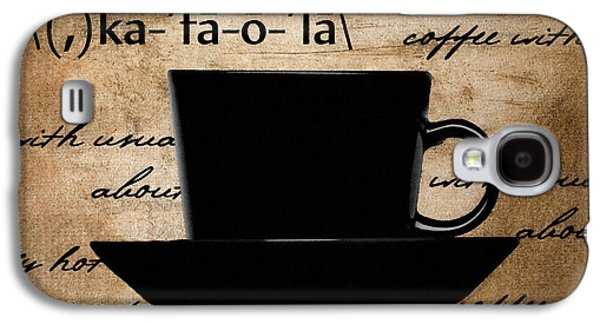Espresso Galaxy S4 Cases - Into You Galaxy S4 Case by Lourry Legarde