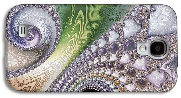 Beauty Mark Photographs Galaxy S4 Cases - Intricate Galaxy S4 Case by Heidi Smith