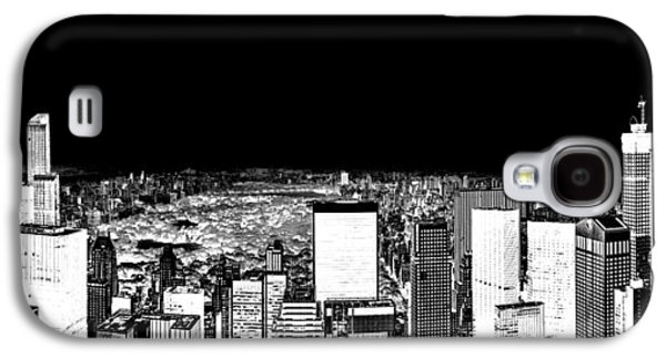 Midtown Galaxy S4 Cases - Inverted Central Park View Galaxy S4 Case by Az Jackson