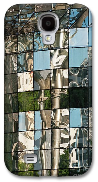 Glass Wall Galaxy S4 Cases - ION Orchard Reflections Galaxy S4 Case by Rick Piper Photography