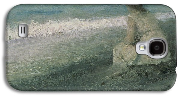 Depression Paintings Galaxy S4 Cases - Iphigenia at Tauris Galaxy S4 Case by Valentin A Serov