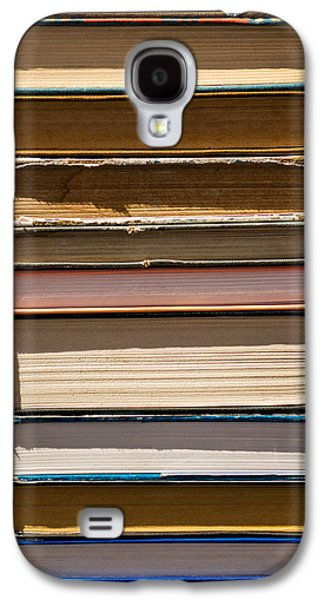 Art Mobile Galaxy S4 Cases - iPhone Case - Pile Of Books Galaxy S4 Case by Alexander Senin