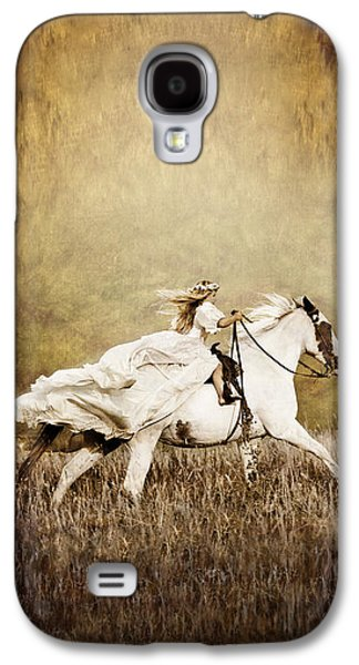 Idaho ist Photographs Galaxy S4 Cases - iPhone Case - Ride Like the Wind Galaxy S4 Case by Cindy Singleton