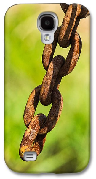 Mobile Designs Galaxy S4 Cases - iPhone Case - Rusty Chain Galaxy S4 Case by Alexander Senin
