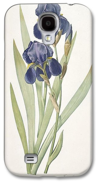 Iris Germanica Bearded Iris Galaxy S4 Case by Pierre Joseph Redoute