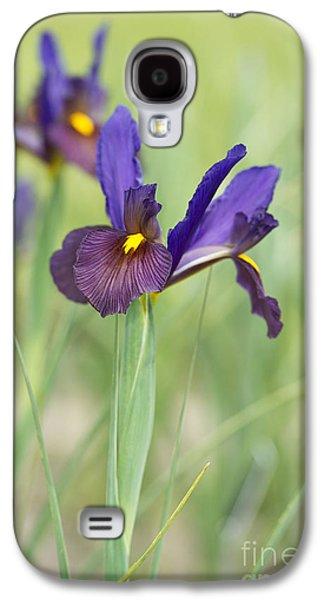 The Tiger Galaxy S4 Cases - Iris Hollandica Eye of the Tiger Galaxy S4 Case by Tim Gainey