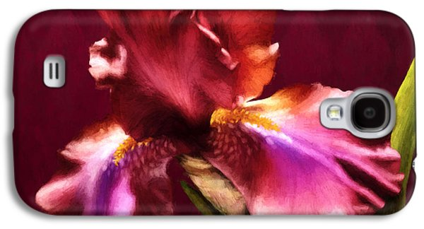 Photorealistic Galaxy S4 Cases - Iris I Galaxy S4 Case by April Moen