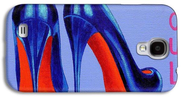 Irish Burlesque Shoes Galaxy S4 Case by John  Nolan