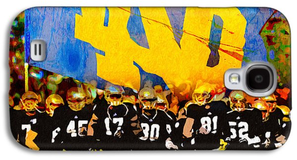 Universities Paintings Galaxy S4 Cases - Irish in Color Galaxy S4 Case by John Farr
