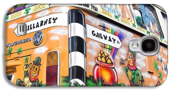 Airbrush Galaxy S4 Cases - Irish Kombi  Galaxy S4 Case by Tim Gainey