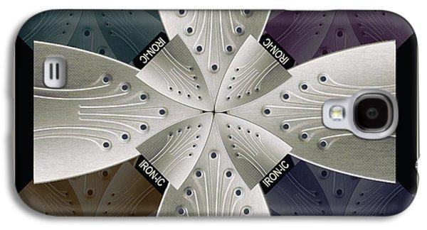 Interior Still Life Mixed Media Galaxy S4 Cases - Iron Cross Ironic Cross Galaxy S4 Case by Tony Rubino