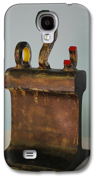 Iron Sculptures Galaxy S4 Cases - Iron John Henry I Galaxy S4 Case by Tom Wright