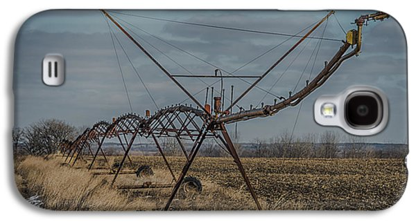 Agronomy Galaxy S4 Cases - Irrigation System Galaxy S4 Case by Paul Freidlund