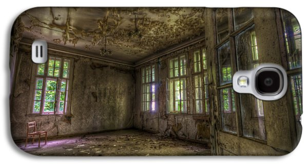 Haunted House Digital Galaxy S4 Cases - Is that your seat Galaxy S4 Case by Nathan Wright