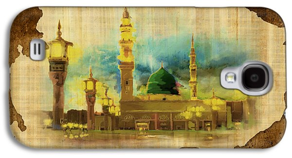 Islamic Calligraphy 035 Galaxy S4 Case by Catf