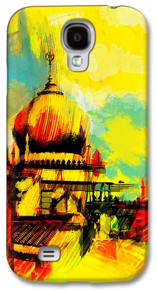 Namaz Paintings Galaxy S4 Cases - Islamic Painting 001 Galaxy S4 Case by Catf