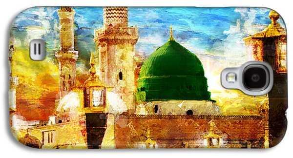 Saudia Paintings Galaxy S4 Cases - Islamic Paintings 005 Galaxy S4 Case by Catf