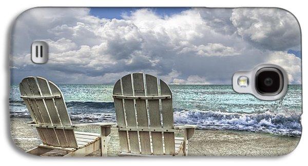 Sun Galaxy S4 Cases - Island Attitude Galaxy S4 Case by Debra and Dave Vanderlaan