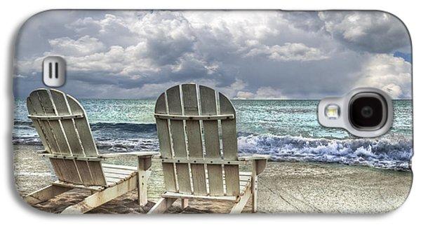 Miami Photographs Galaxy S4 Cases - Island Attitude Galaxy S4 Case by Debra and Dave Vanderlaan