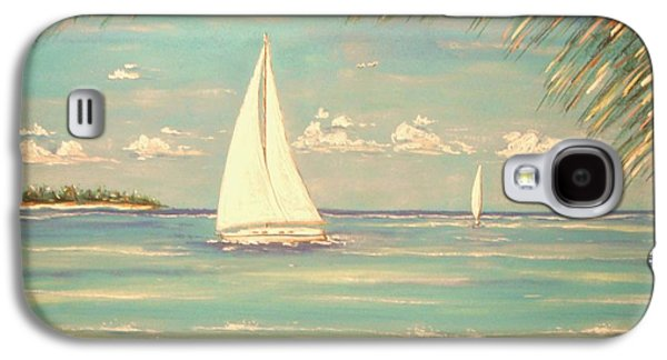Beach Landscape Pastels Galaxy S4 Cases - Island Dreamer Galaxy S4 Case by The Beach  Dreamer