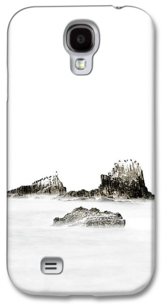 California Sea Lions Galaxy S4 Cases - Island Girl Galaxy S4 Case by Sean Foster
