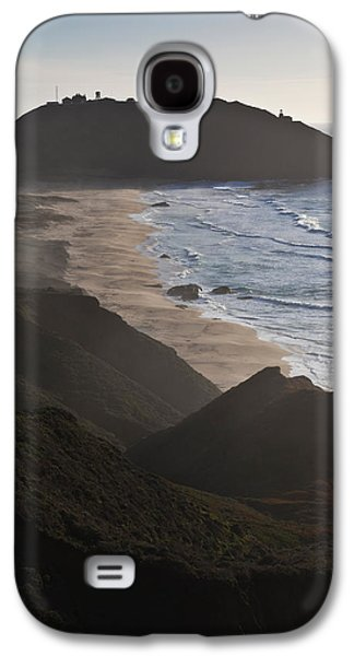 Big Sur California Galaxy S4 Cases - Island In The Pacific Ocean, Point Sur Galaxy S4 Case by Panoramic Images