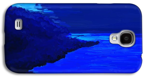 Abstract Digital Paintings Galaxy S4 Cases - Island Galaxy S4 Case by Kume Bryant