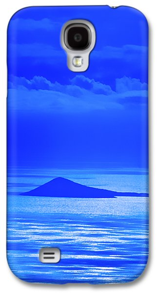 Blue Galaxy S4 Cases - Island of Yesterday Galaxy S4 Case by Christi Kraft