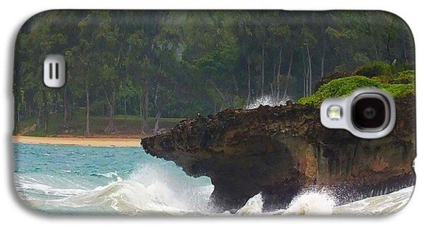 Galaxy S4 Cases - Island Portraits Oahu Hawaii Galaxy S4 Case by Scott Cameron