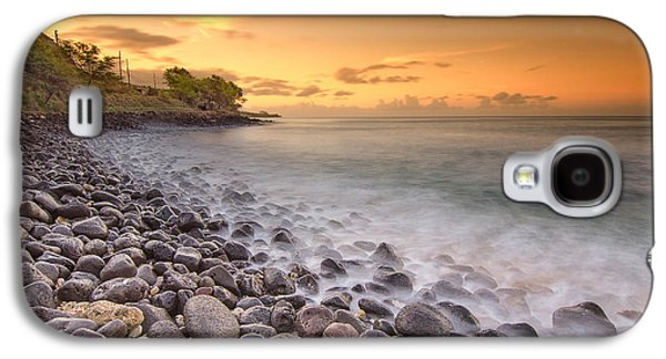 Top Seller Galaxy S4 Cases - Island Sunset in Oahu Galaxy S4 Case by Tin Lung Chao