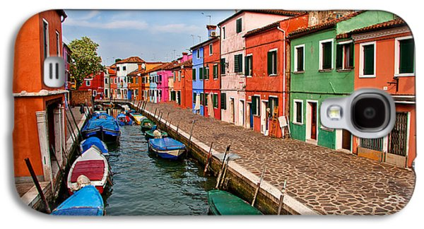 Fishing Village Galaxy S4 Cases - Isle of Burano Galaxy S4 Case by Peter Tellone