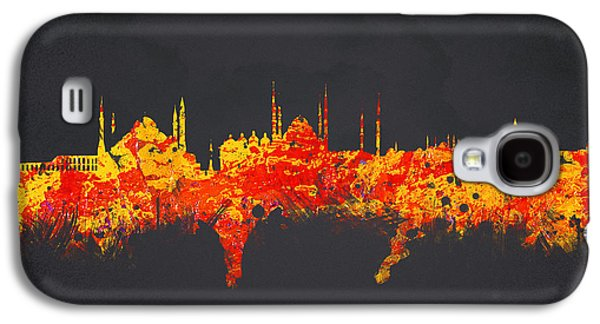 Financial Mixed Media Galaxy S4 Cases - Istanbul Turkey Galaxy S4 Case by Aged Pixel