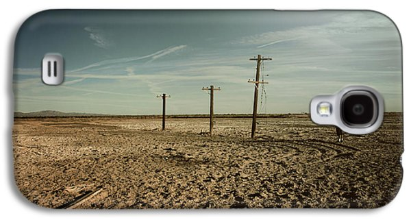 Telephone Poles Galaxy S4 Cases - It Was a Strange Day Galaxy S4 Case by Laurie Search