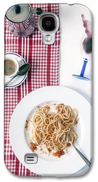 Table Cloth Galaxy S4 Cases - Italian Food Galaxy S4 Case by Joana Kruse