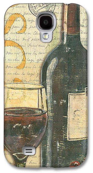 Cabernet Galaxy S4 Cases - Italian Wine and Grapes Galaxy S4 Case by Debbie DeWitt
