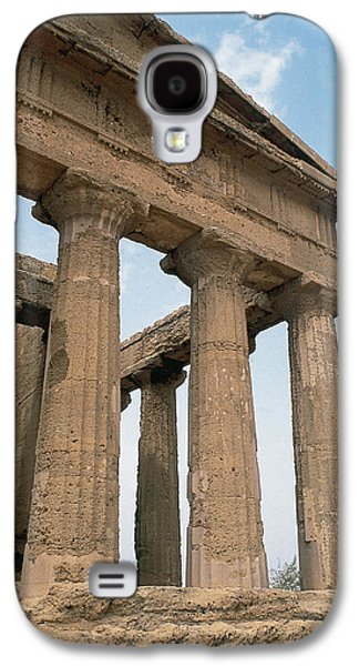 Ancient Galaxy S4 Cases - Italy. Sicily. Agrigento. Valley Of The Temples. Temple Of Concordia. 5th Century Bc Galaxy S4 Case by Bridgeman Images