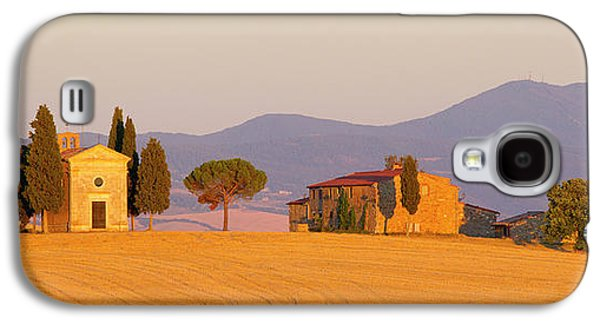 Italy, Tuscany Little Chapel At Sunset Galaxy S4 Case by Jaynes Gallery