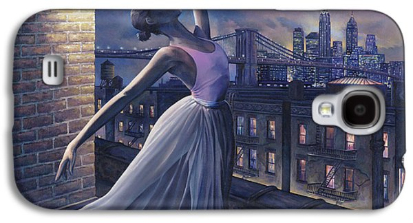 Rooftop Galaxy S4 Cases - Its Never Too Late Galaxy S4 Case by Dennis Goff