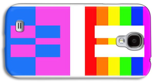 Equality Galaxy S4 Cases - Its Time - Equal Rights For All By Sharon Cummings Galaxy S4 Case by Sharon Cummings