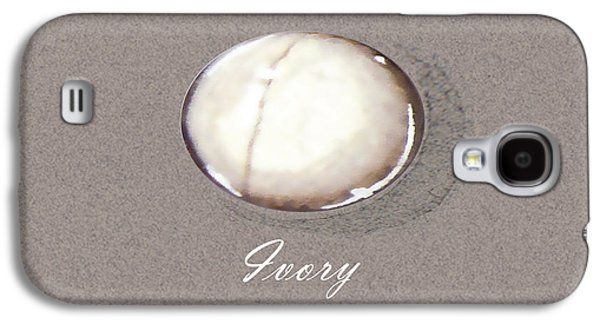 Zen Jewelry Galaxy S4 Cases - Ivory cabochon Galaxy S4 Case by Marie Esther NC