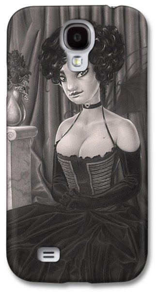 Creepy Drawings Galaxy S4 Cases - Ivy Galaxy S4 Case by Richard Moore