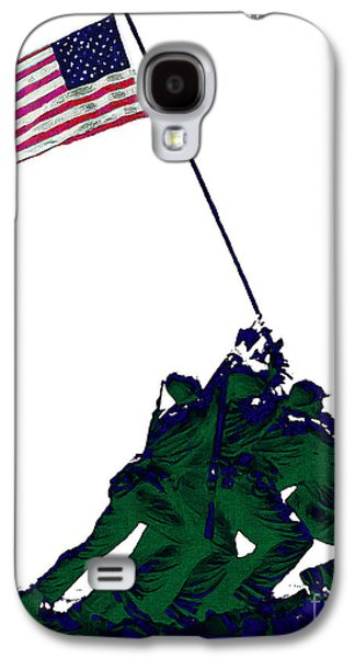 4th July Galaxy S4 Cases - Iwo Jima 20130210-white Galaxy S4 Case by Wingsdomain Art and Photography
