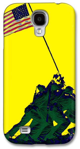 4th July Galaxy S4 Cases - Iwo Jima 20130210p118 Galaxy S4 Case by Wingsdomain Art and Photography
