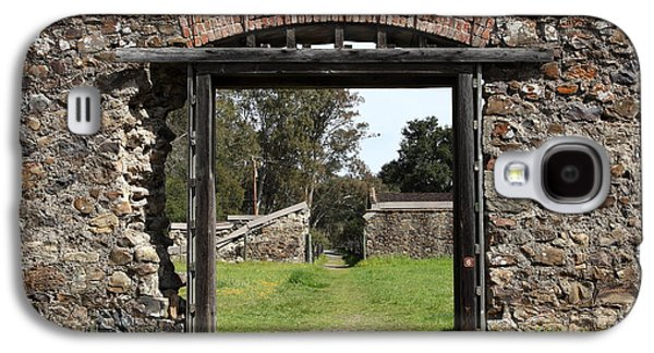 Pastoral Vineyards Galaxy S4 Cases - Jack London Ranch Winery Ruins 5D22128 Galaxy S4 Case by Wingsdomain Art and Photography