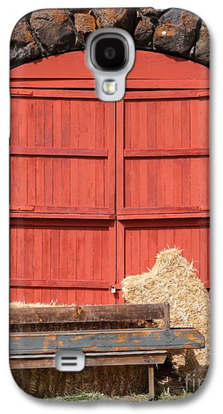 Pastoral Vineyards Galaxy S4 Cases - Jack London Stallion Barn 5D22103 Galaxy S4 Case by Wingsdomain Art and Photography