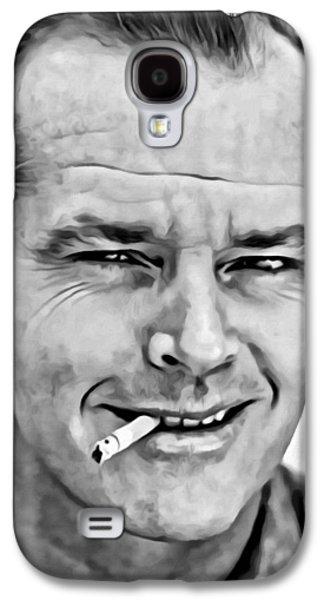 Jack Nicholson Galaxy S4 Case by Florian Rodarte