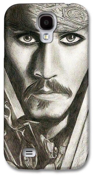 Jack Sparrow Galaxy S4 Case by Michael Mestas