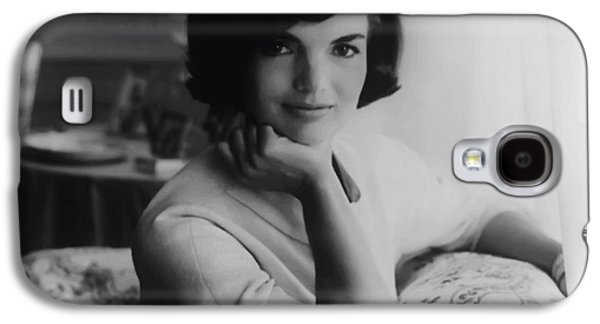 First-lady Galaxy S4 Cases - Jackie Kennedy  1961 Galaxy S4 Case by Daniel Hagerman