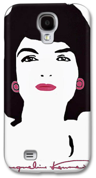 Recently Sold -  - First Lady Galaxy S4 Cases - Jackie Kennedy Signature Pink Lips Galaxy S4 Case by Jost Houk